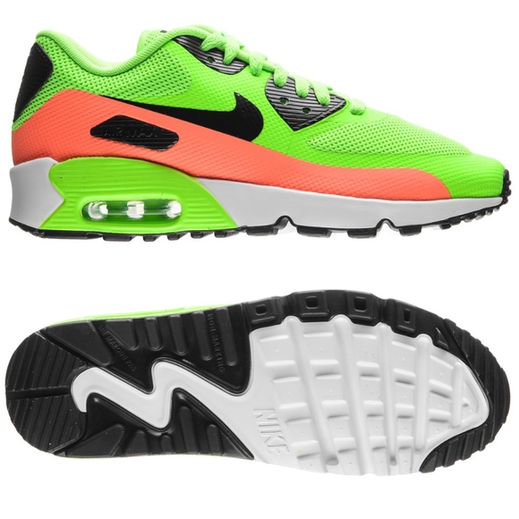youth nike air max 90 FBSE gs 852819 300 electric NWT